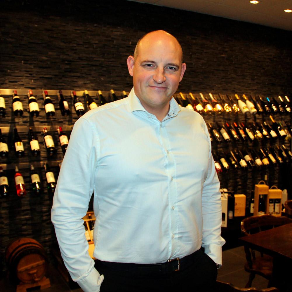 Brian Holm Anthonsen, ejer af PL Vinimport
